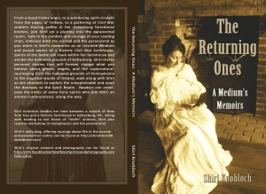My memoirs as a intuitive medium.  Experiences at my farmhouse in Gettysburg, and around the world at haunted sites.