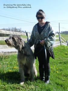 Aura Lea and me Gettysburg 1