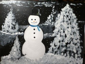 Snowman fairy tale